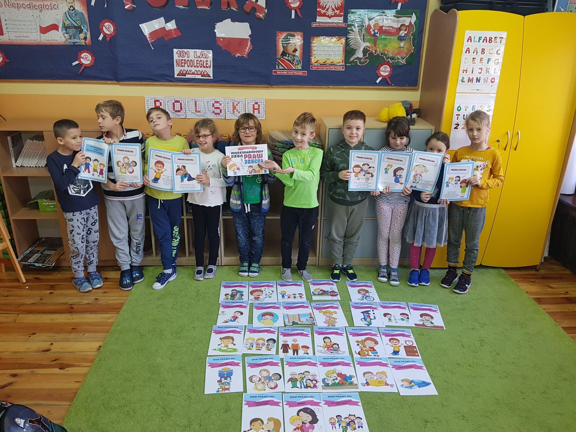 Dzień Praw Dziecka Szkoła Podstawowa Im Hsienkiewicza W
